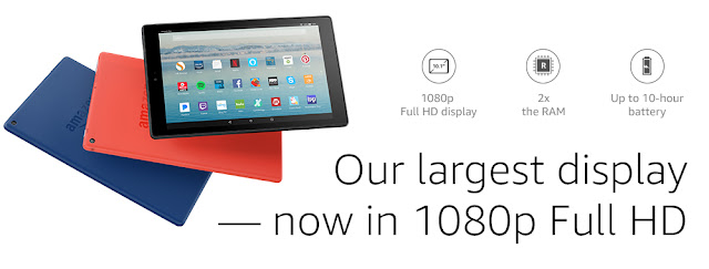 Review of the Amazon's 10 Fire HD Tablet