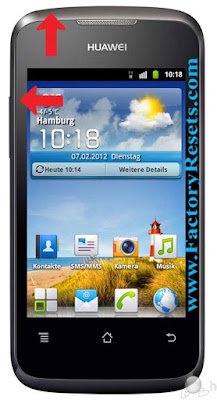 hard Reset Huawei Ascend Y200