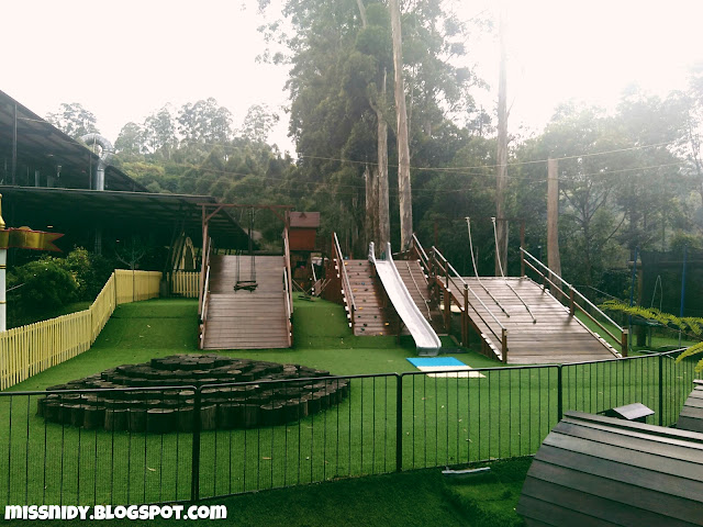 arena bermain di dusun bambu lembang