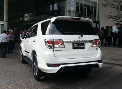 Eksterior Toyota Fortuner Gen1 Facelift