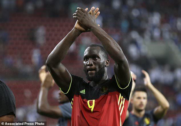 Romel Lukaku, autor del gol que clasifica a Bélgica a Rusia 2018