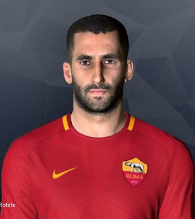PES 2017 Faces Maxime Gonalons by Facemaker Ahmed El Shenawy
