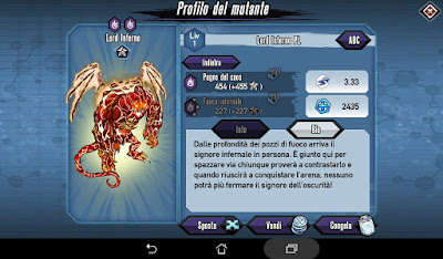 Mutants: Genetic Gladiators video N°383 Fusion Pit Lord - Fusione Lord Inferno