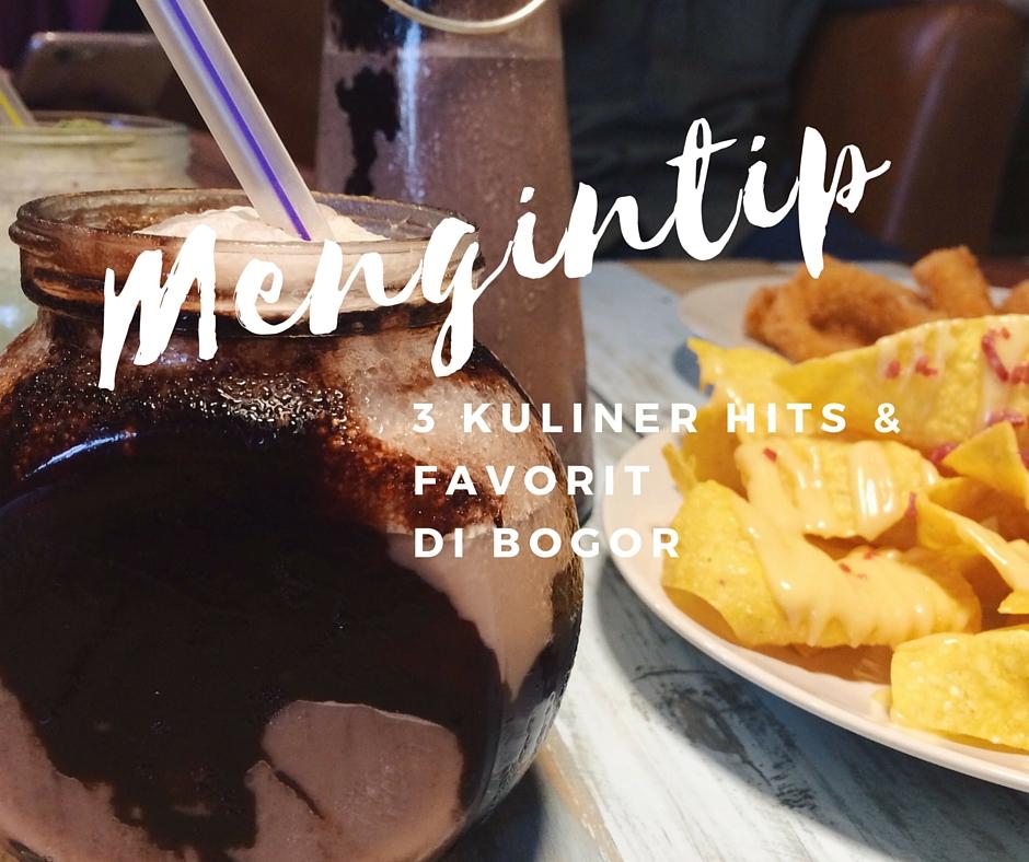 Mengintip 3 Kuliner Hits Favorit Di Bogor A Little Bit