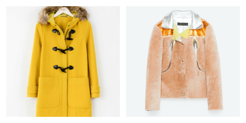 autumn coats you need yellow duffle
