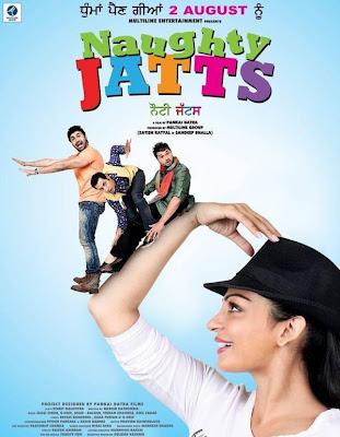 Poster Of Naughty Jatts (2013) Full Punjabi Movie Free Download Watch Online At worldfree4u.com