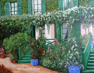 La Maison de Claude Monet by Boulder artist Tom Roderick