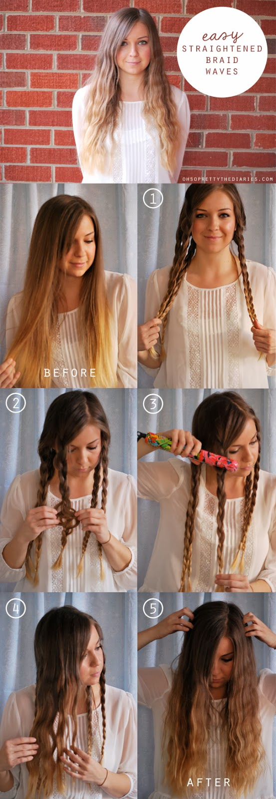tutorial: straightened braid waves