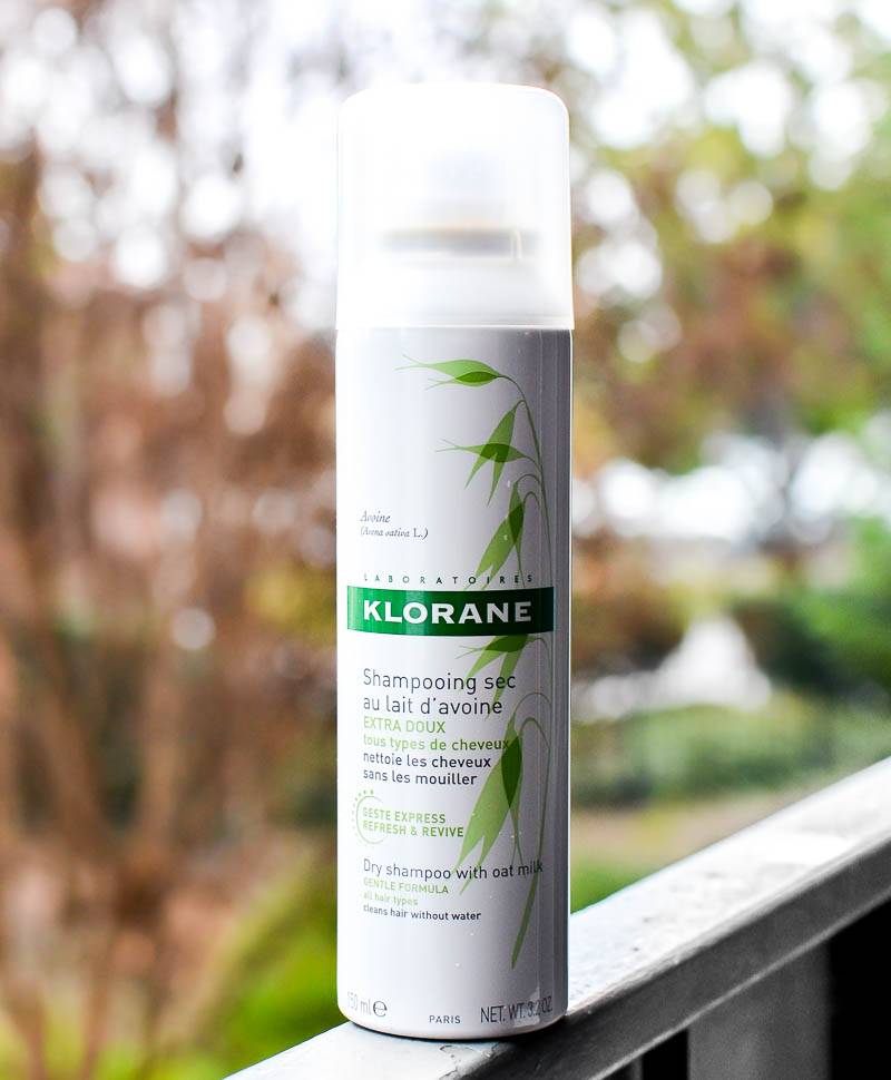 Klorane Dry Shampoo with Oat Milk - Ingredients