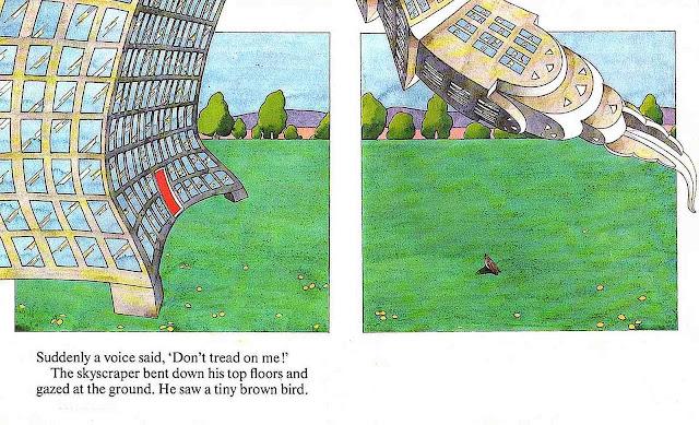 an Emanuel Schongut children's book illustration in color