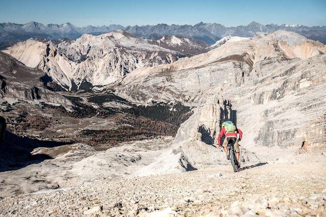 Pederü Hütte Mountainbike Tour Fanes Tal