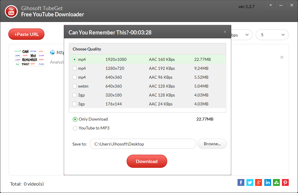 Gihosoft TubeGet: How To Download YouTube Videos On Windows, Mac