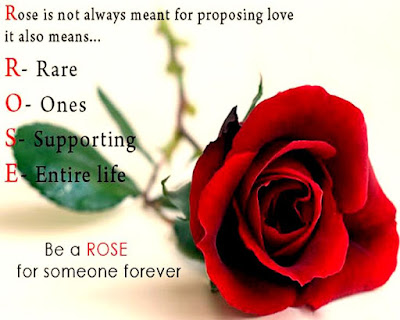 Great Rose Day SMS