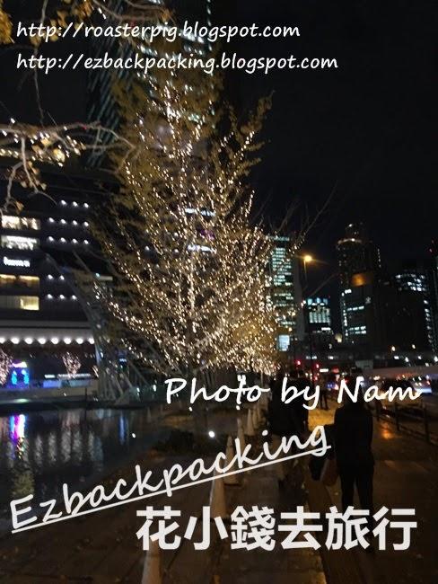 梅田聖誕燈飾