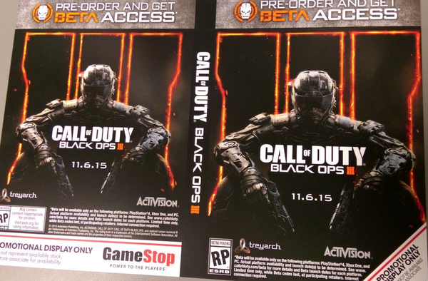 لعبة Call of Duty: Black Ops 3