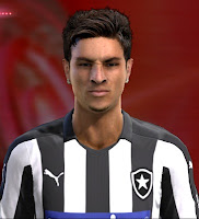 Face Diogo Barbosa - Botafogo Pes 2013