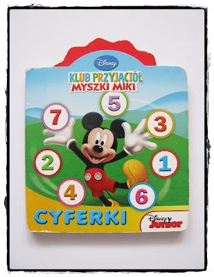 książeczka myszki miki