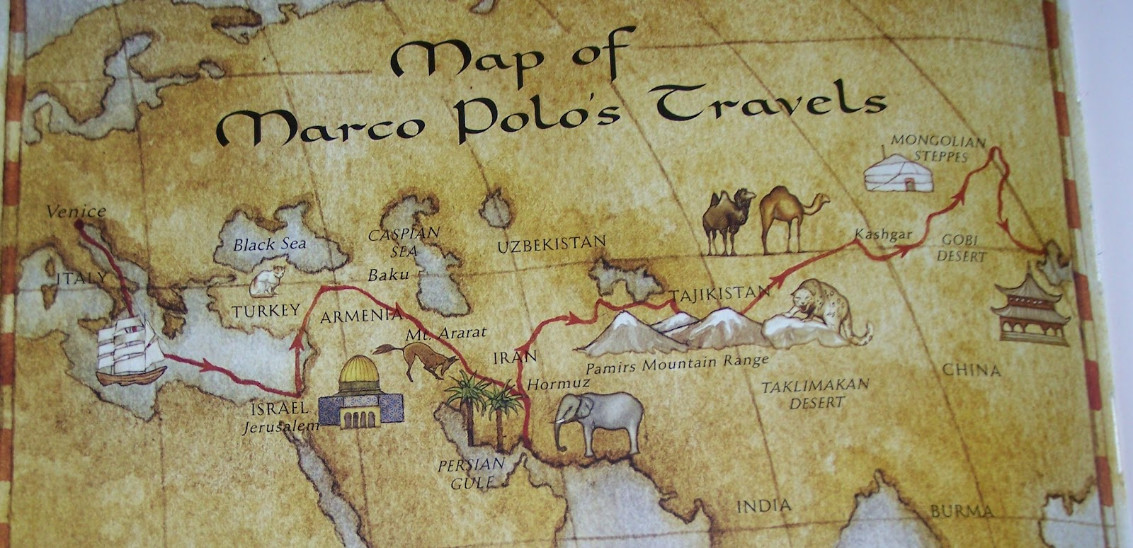 The personal life and travels of marco polo