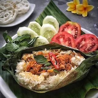 Ide Resep Masak Membuat Nasi Bakar Ayam Sisit Khas Bali