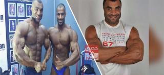 محمد سعد بطل مصر في كمال الاجسام