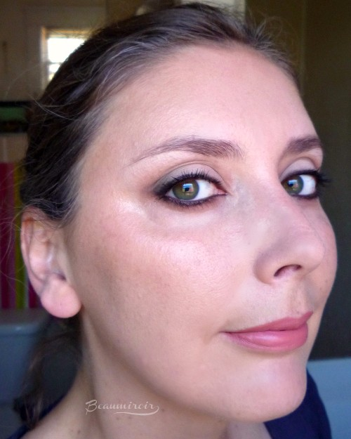 Wearing Lancome Glow Subtil Silky Creme Highlighter in Glowing Lights, fotd motd