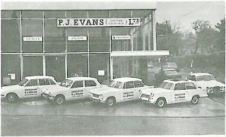 P J Evans (SuttonColdfield) Ltd in 1967
