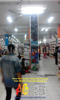 Tempat Percetakan Neon Box Murah di Bengkulu