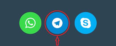Cara Membuat Telegram Share Button untuk Blogger