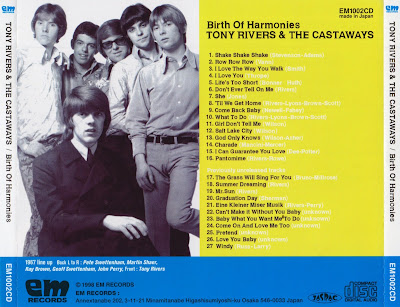 Tony Rivers & The Castaways - Birth Of Harmonies