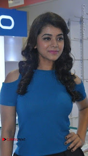 Telugu Actress Yamini Bhaskar Latest Pos in Blue Top and Black Skirt  0015.jpg
