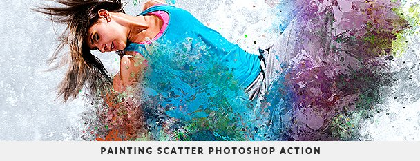 Painting 2 Photoshop Action Bundle - 107