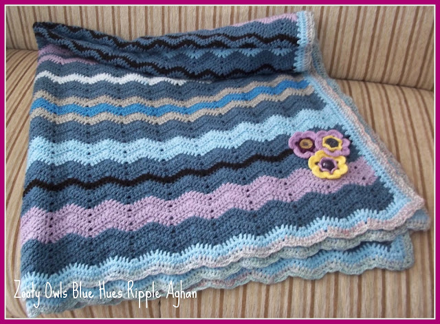 crochet stripes