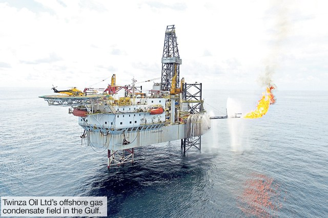 Twinza Oil  PNG Gas field on target with state goals