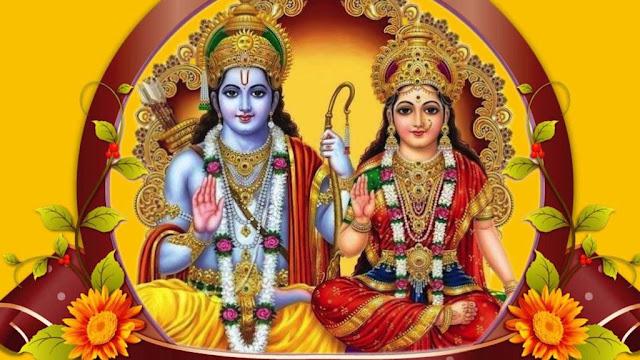 Beautifull Lord Ram & Sita  Wallpaper