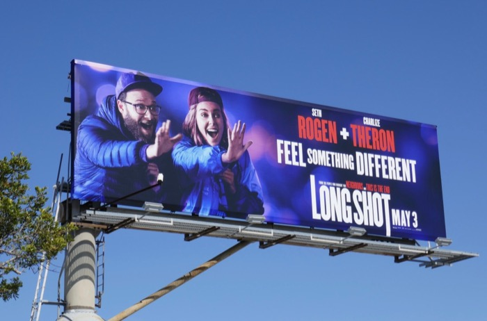 Long Shot movie billboard