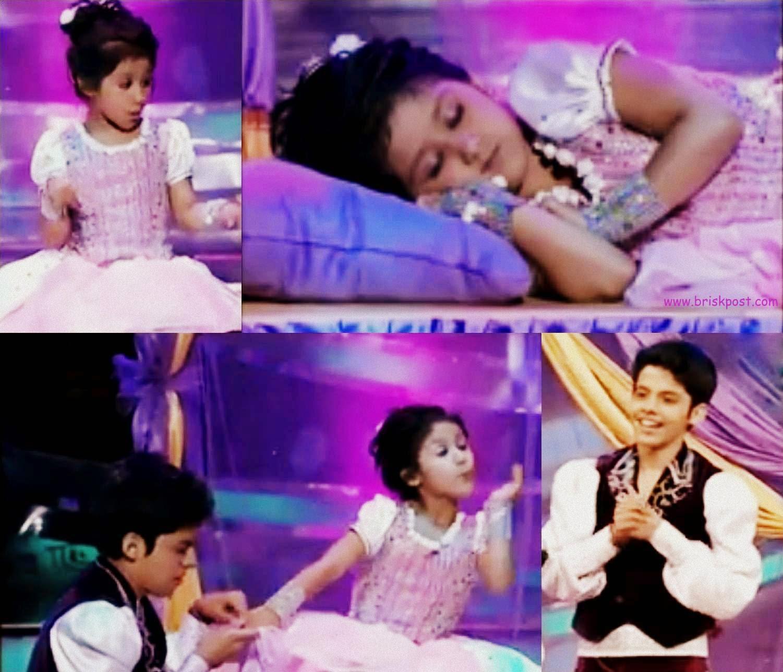 Dance performance by cute Anushka and Darsheel Safari in DID Little Masters