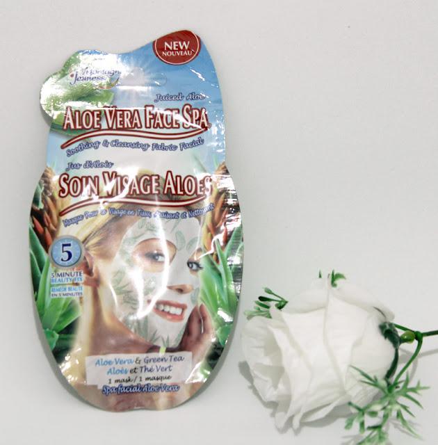Aloe Vera Sheet Mask Montagne Jeunesse