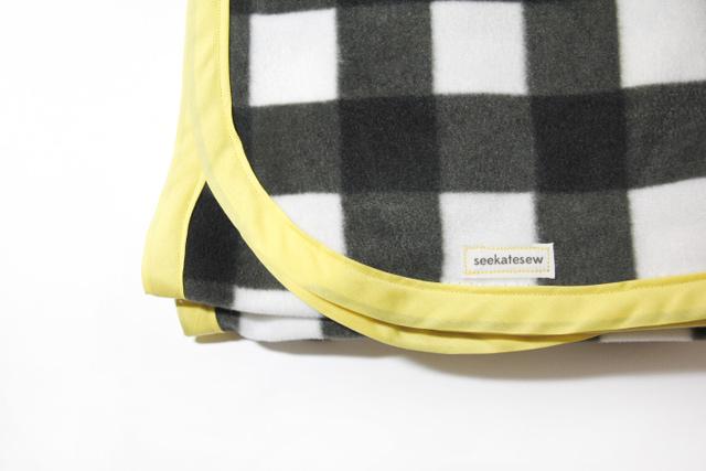 Easy Bound Fleece Blanket