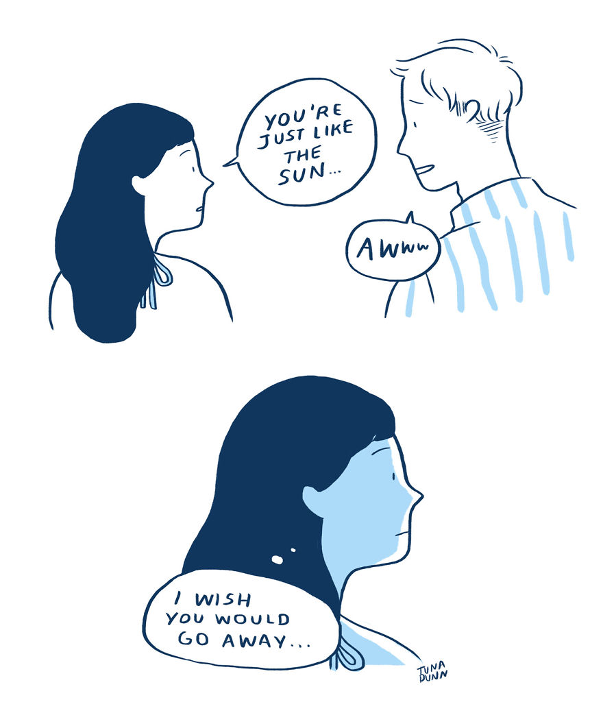 30 Amazing Comics That Illustrate The Ups And Downs Of A Relationship