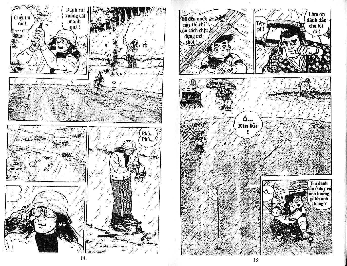 Ashita Tenki ni Naare chapter 27 trang 6