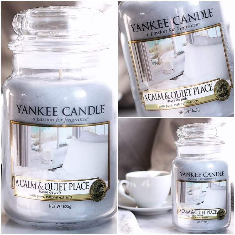 świeca yankee candle a calm & quiet place