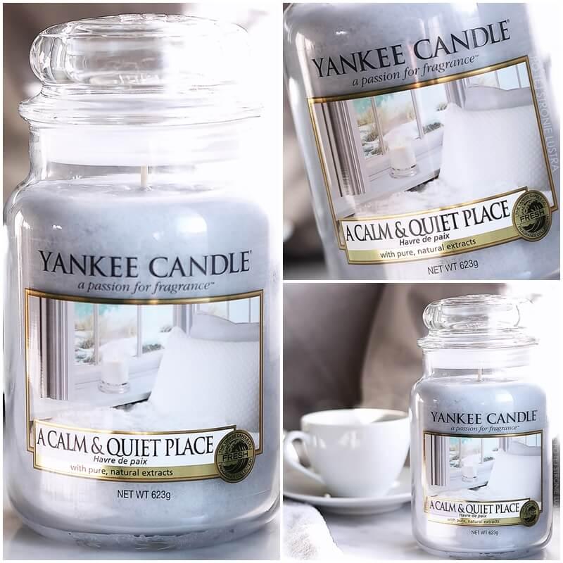 świeca yankee candle a calm & quiet place