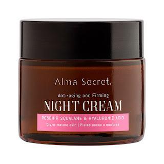 Alma secret crema de noche con ácido hialurónico