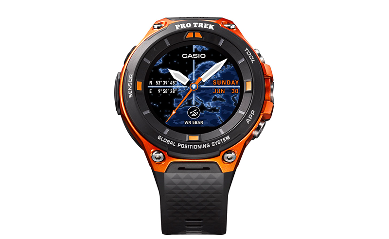 Casio Pro Trek WSD-F20 Is A Rugged Smartwatch Powered By Android Wear 2.0