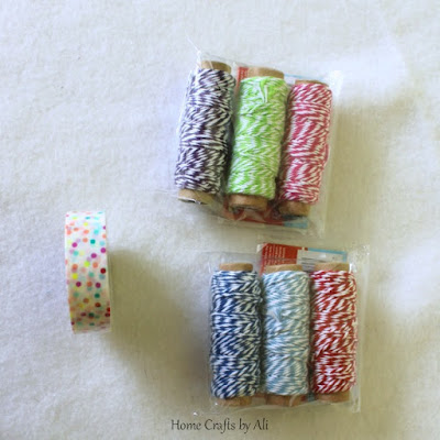 National Craft Month Craft Supply Giveaway spring  bakers twine washi tape