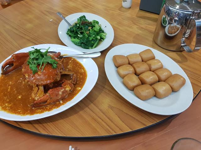 Crab delicacy-Singapore