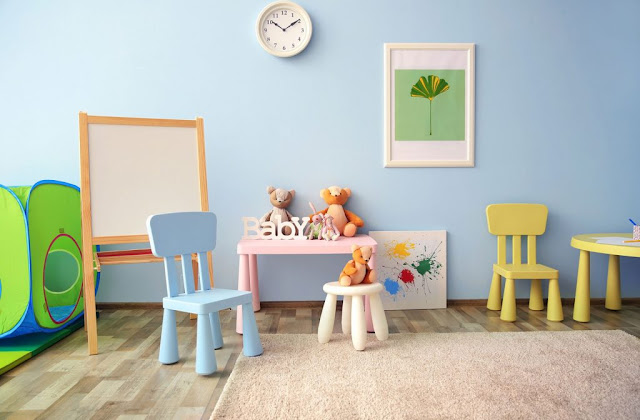 Create a Kids Scribble Space