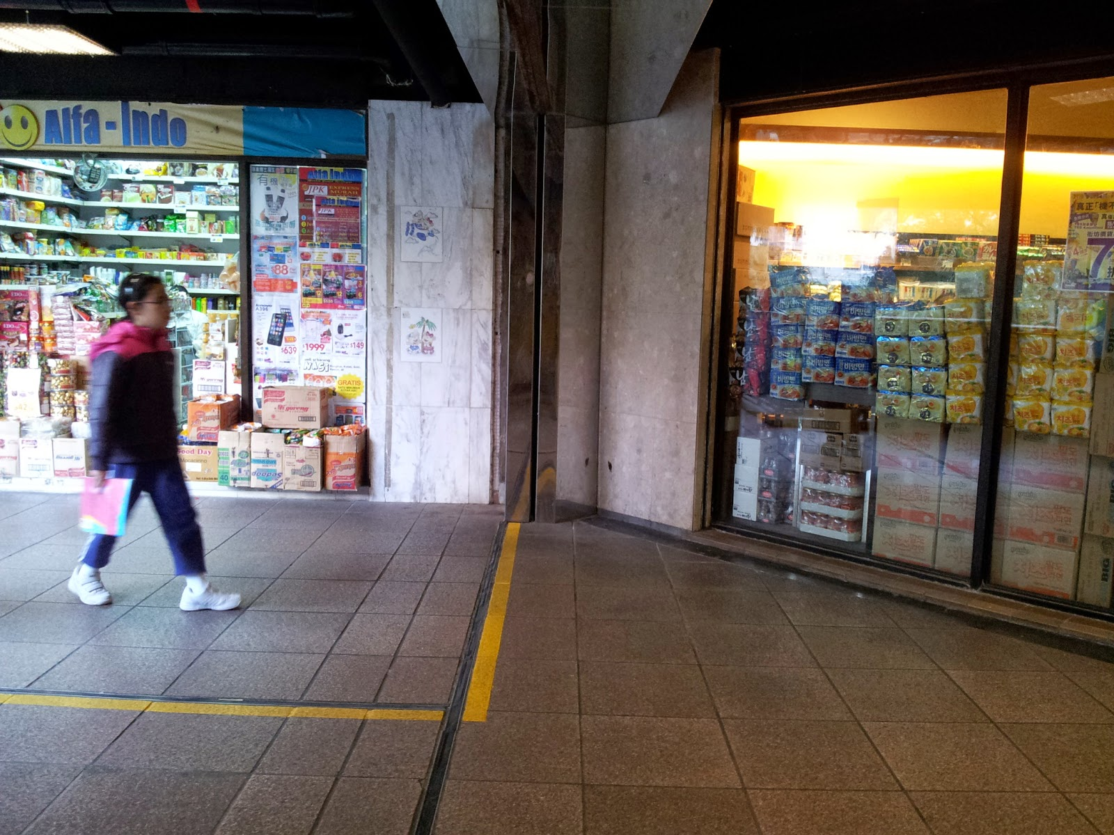 Grassroots O2: 巡視業務.領匯.鳳德商場 @2015-01-17