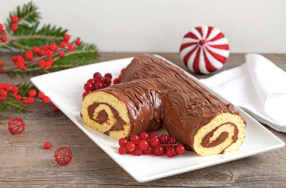 Tronchetto Di Natale Bimby.Tronchetto Di Natale Alla Nutella Con Il Bimby Tm5 Ricette Bimby