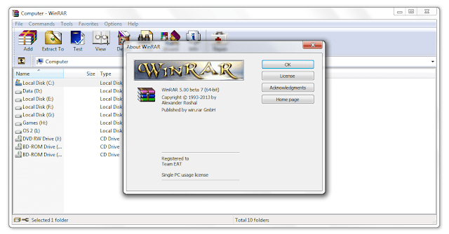 WinRAR 64 Bit Free Download Full Version 2018